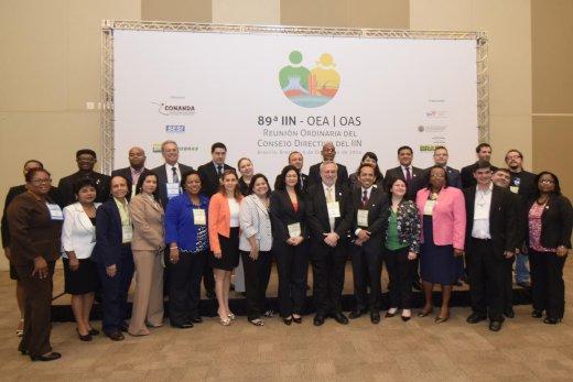 89ª Reunión Ordinaria del Consejo Directivo del IIN