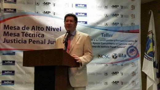 Taller sobre Sistema de Justicia Penal Juvenil, Guatemala