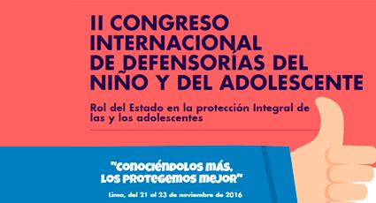 II Congreso Internacional de Defensorías del Niño y del Adolescente