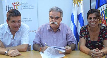 El IIN y NNAPES firman Acuerdo de Cooperación