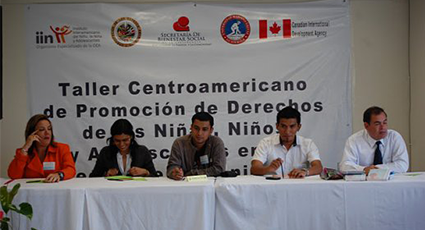 Central American Workshop to Promote Child Rights in the Media