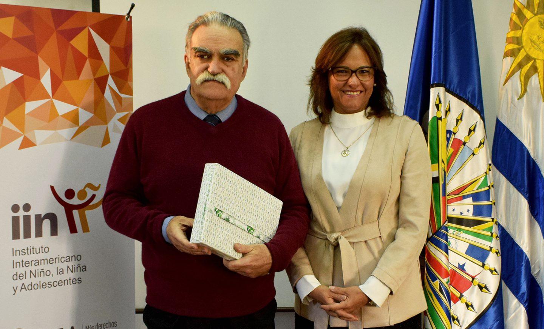 Presidenta de la Asamblea Nacional de Ecuador visita el IIN