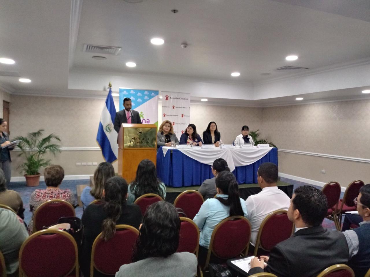 IIN – El Salvador fortalecen las capacidades de los operadores en materia de ESNNA y Violencia y Derechos