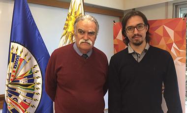 Autoridad del CNII Ecuador visitó el IIN para compartir el grado de avance de acciones conjuntas