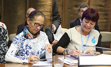 IIN y UNICEF firman acuerdo de cooperación interinstitucional sobre protección integral de derechos