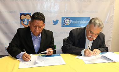 CIPRODENI y el Instituto Interamericano del Niño, la Niña y Adolescentes de la OEA firman Acuerdo de Cooperación