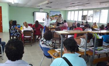 Jornada de sensibilización RIAMUSI en el IPT Chilibre – Panamá