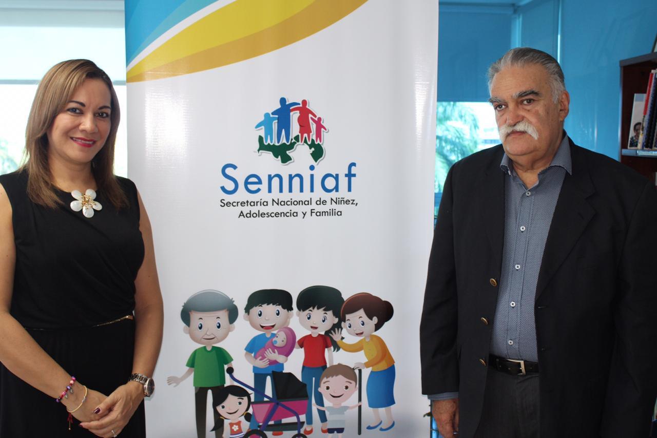 IIN y SENNIAF se reúnen para abordar temas de asistencia técnica