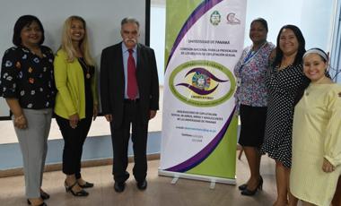 Director General del IIN visitó el Observatorio Nacional de ESCNNA en la Universidad de Panamá