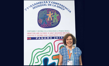 IIN felicita a Mercedes Mayol como nueva Presidenta de la OMEP