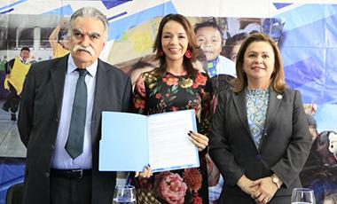IIN y SBS de Guatemala firman acuerdo de cooperación para la implementación de un Centro de Formació
