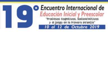 Procesos cognitivos, socioafectivos y el juego en la primera infancia fue el tema del 19º Encuentro Internacional de Educación Inicial y Preescolar