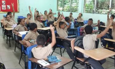 RIAMUSI Panamá realizó taller sobre el uso seguro de Internet en el Centro Educativo Dr. Octavio Méndez Pereyra