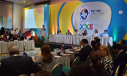 Concluyó el XXII Congreso Panamericano del Niño, la Niña y Adolescentes