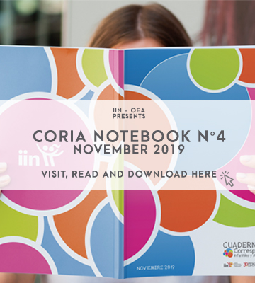 The IIN and the Network of Child and Youth Correspondents present CORIA NOTEBOOK N ° 4