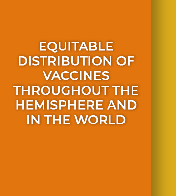 IIN-OAS call to make every effort to achieve equitable distribution of vaccines throughout the hemisphere and in the world