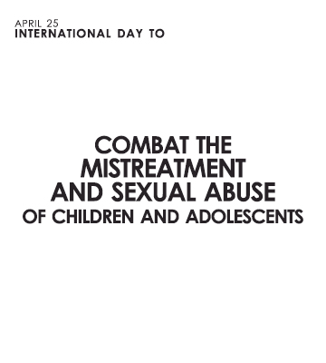 IIN-OAS commemorates the International Day to Combat the mistreatment and sexual abuse of children and adolescents – April 25