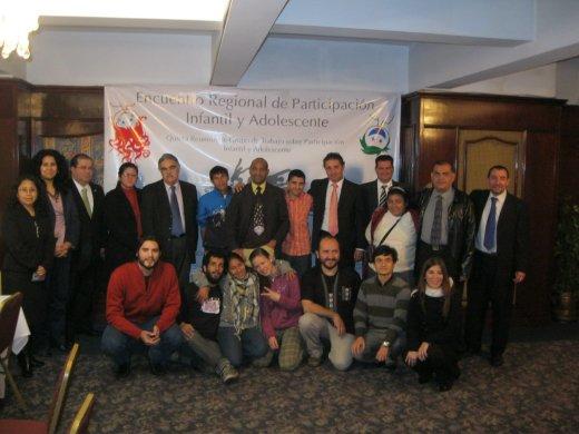 Primer Encuentro de Espacios Consultivos de Niños, Niñas y Adolescentes y 5ª Reunión del Grupo de Trabajo sobre Participación Infantil y Adolescente