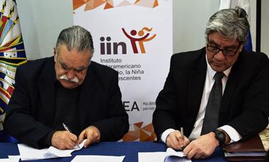 IIN e IPPDDHH firman Convenio de Cooperación Insterinstitucional