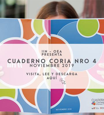 El IIN y la Red de Corresponsales Infantiles y Adolescentes presentan el CUADERNO CORIA N° 4