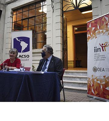 IIN y FLACSO UY firman acuerdo de comodato para nueva sede de la Facultad y renovación de la Biblioteca «Luis Morquio»
