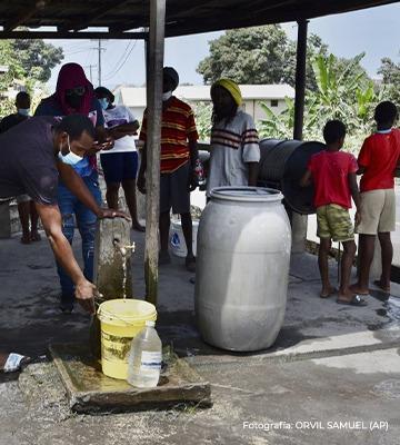 El IIN-OEA expresa su solidaridad con el pueblo de San Vicente y las Granadinas por la erupción del volcán La Sofriere